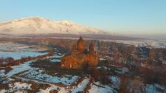 Armenia, Saghmosavank monastery, 13th century Stock Footage
