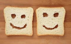 Happy toast - stock photo