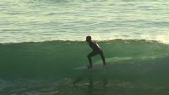 Stock Video Footage of Surfing Clidro