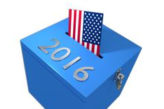2016 presidential elections concept Stock Illustration