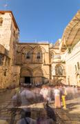 Church of the Holy Sepulchre, Jerusalem - stock photo