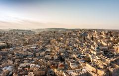 Christian Quarter of Jerusalem Stock Photos