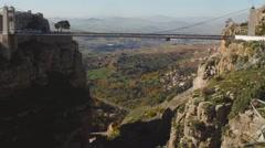Constantine hight bridge - stock footage