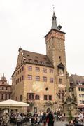 Wuerzburg Town Hall - stock photo