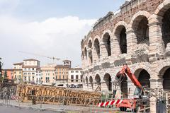 Verona Arena - stock photo