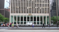 Exxon Building, more widely known by its address 1251 Avenue Stock Footage