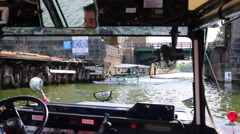 Stock Video Footage of Sailing in Boston Duck Tours in Boston, United States.