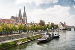 Regensburg Museum of Danube Shipping - stock photo