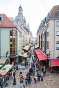 Tourism in Dresden Stock Photos