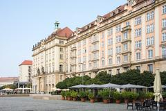 City of Dresden - stock photo