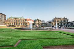 Zwinger Palace in Dresden - stock photo