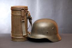 World War II Germany Equipment - stock photo