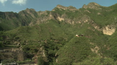 Chinese mountain village, Cuandixia Stock Footage