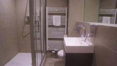 Hotel bathroom Stock Footage