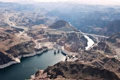 Hoover Dam Outdoors - stock photo