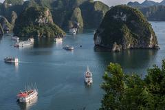 Visiting Vietnam Outdoors Kuvituskuvat