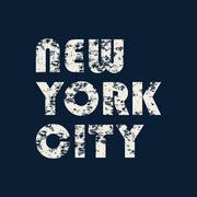New York typography, t-shirt graphics Stock Illustration