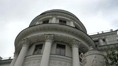 Yelagin Palace  in St. Petersburg. Stock Footage