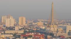 Rama VIII bridge ,Bangkok,Thailand Stock Footage