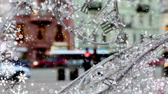 New Year watches in the shop window Stock Footage
