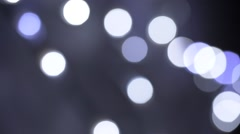 Abstract footage of lights flickering randomly in a dark room. Stock Footage