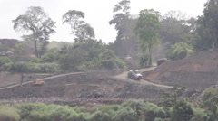 Construction site in Panama 3 - stock footage