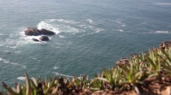 The westernmost point of continental Europe, Portugal.mp4 Stock Footage