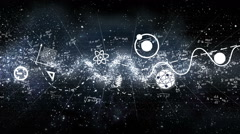 Physics Background - stock footage