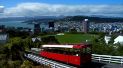Wellington Cable Car Stock Footage