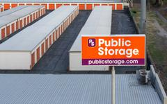 Stock Photo of Public Store Facility Overhead View