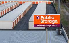 Public Store Facility Overhead View - stock photo