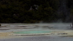 Oyster Pool Geothermal Area Stock Footage