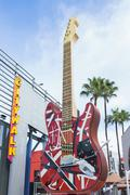Hard Rock Cafe at Universal CityWalk - stock photo