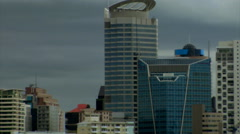 Auckland East Skyline Pullout Stock Footage