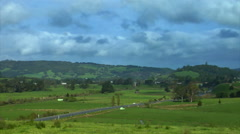 New Zealand Northland Country Time Lapse Stock Footage
