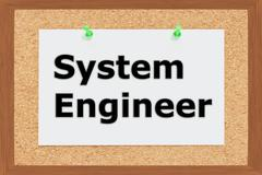 System Engineer concept Stock Illustration