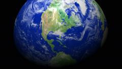 4K Earth Zoom: Jacksonville - Florida Stock Footage