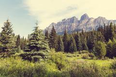 Stock Photo of Banff