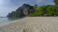 Timelapse of tonsai beach on Ko Phi Phi in Thailand Stock Footage