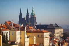 Cathedral of Saint Vitus - stock photo