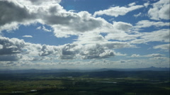Cloud Time Lapse Mt Tamborine Australia - 4k Stock Footage