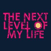 Next level typography, t-shirt graphics Stock Illustration