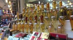 Stock Video Footage of Ginseng Trade Shop in the Namdaemun market. Seoul, South Korea.