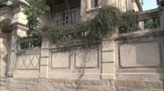 Colonial house, Gulangyu Island, China Stock Footage
