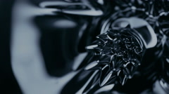 Stock Video Footage of Black liquid surface. Abstract background.