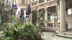 Colonial architecture, Gulangyu, China Stock Footage