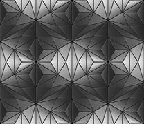 Steel flooring seamless texture background - stock illustration