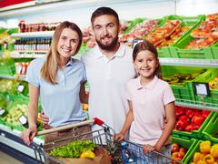 Grocery supermarket - stock photo