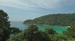 Phuket nature establishing shot, Thailand - stock footage