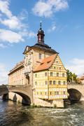 Altes Rathaus of Bamberg Stock Photos